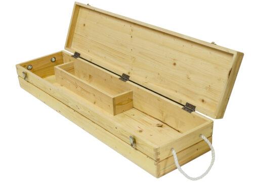 4 player pine croquet set box
