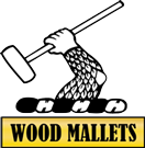 Wood Mallets Croquet and Polo Equipment Logo
