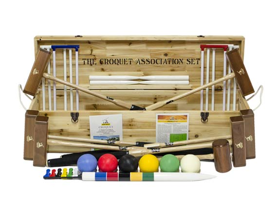 Wood Mallets Croquet Sets
